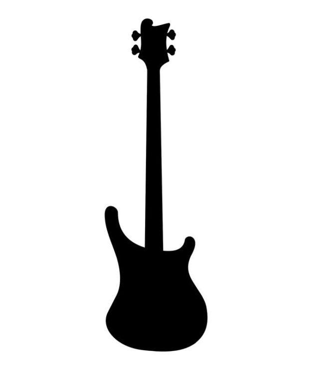 Produktbild: Luftgitarre Modell »Bass«