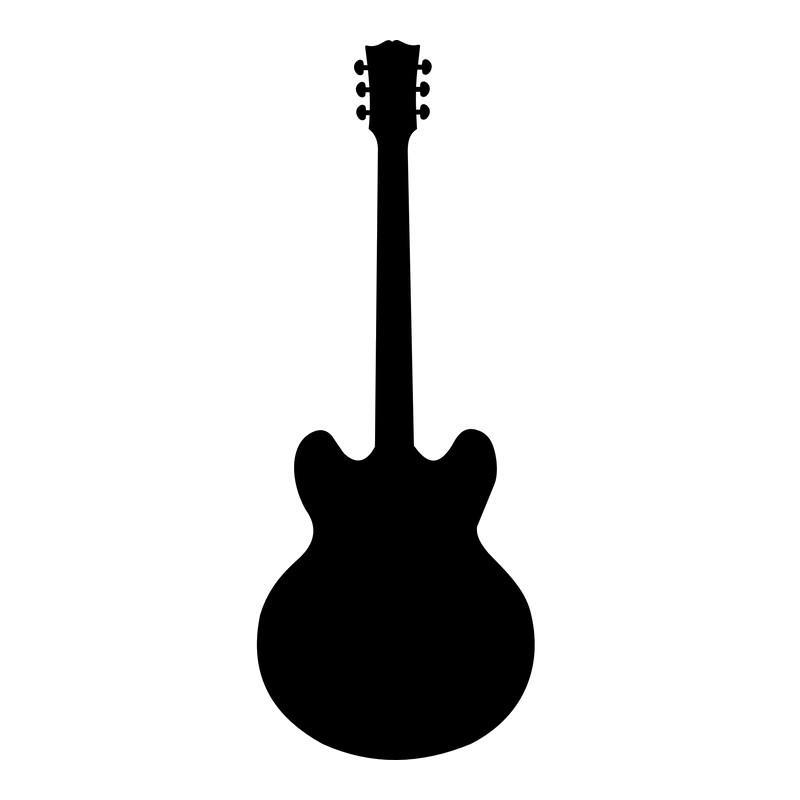 Produktbild: Luftgitarre Modell »Gibson«